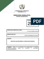reformas al codigo de notariado (proyecto de ley)
