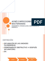 Acne e Infecciones Bacterianas