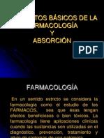 ABSORCIÓN DE FÁRMAC