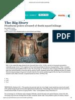 AP Honduras Police Accused of Death Squad Killings