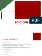 Fisiologi Masa Nifas