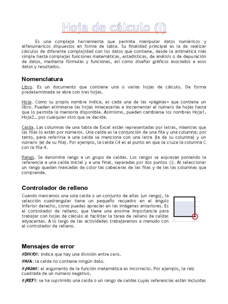 Único Datos De La División De Matemáticas Hojas De Cálculo ...