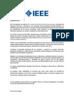 Qué es IEEE
