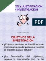CLASE 7- objetivos-justificación