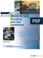 Biodiesel Handling and Use Guidelines