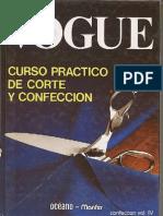 Vogue Curso Práctico Corte y Confección