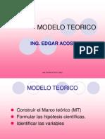 Clase 8- Modelo Teorico