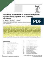 optimal load shedding tecniques(2009).pdf