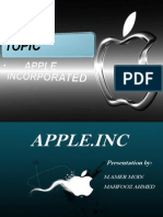 Apple Inc Presentation