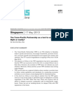ISEAS Perspective 2013 31 - The TPP as a Tool to Contain China - Myth or Reality