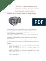 Generador de Aire Caliente Indirecto Para Estufa