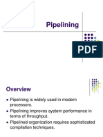 Chapter 8 - Pipelining