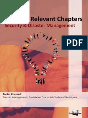 ignou disaster management pdf | Emergency Management | Flood
