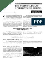 Ruth Shady Solis, Edna Quispe Loayza - El Proceso Cultural de Las Sociedades Prehispanicas de Lima.