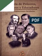 Galeria de Proceres Escritores y Educadores