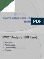 24806468 SWOT Analysis SBI Bank Ppt