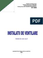Modul Curs Instalatii de Ventilatie