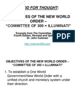 Objectives New World Order.