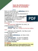 La Lecture Du Dictionnair1