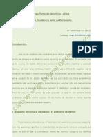 Populismo en América Latina o La Prudencia Ante La Polisemia - Revista Urbe Et Ius #30-ISSN 1668-7221