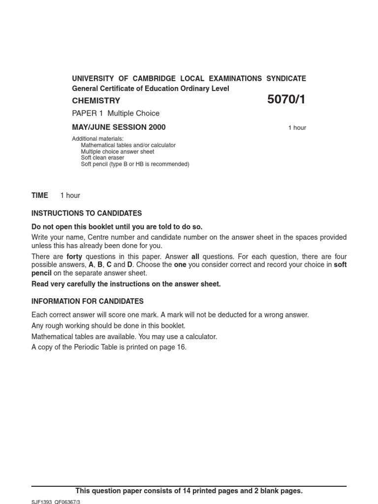 June 2000 paper 1 hydrogen chlorine urtaz Image collections