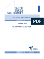 GUIDE MQA 008 008 (Cleaning Validation)