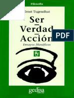 124836951 Ser Verdad Accion Ernst Tugendhat