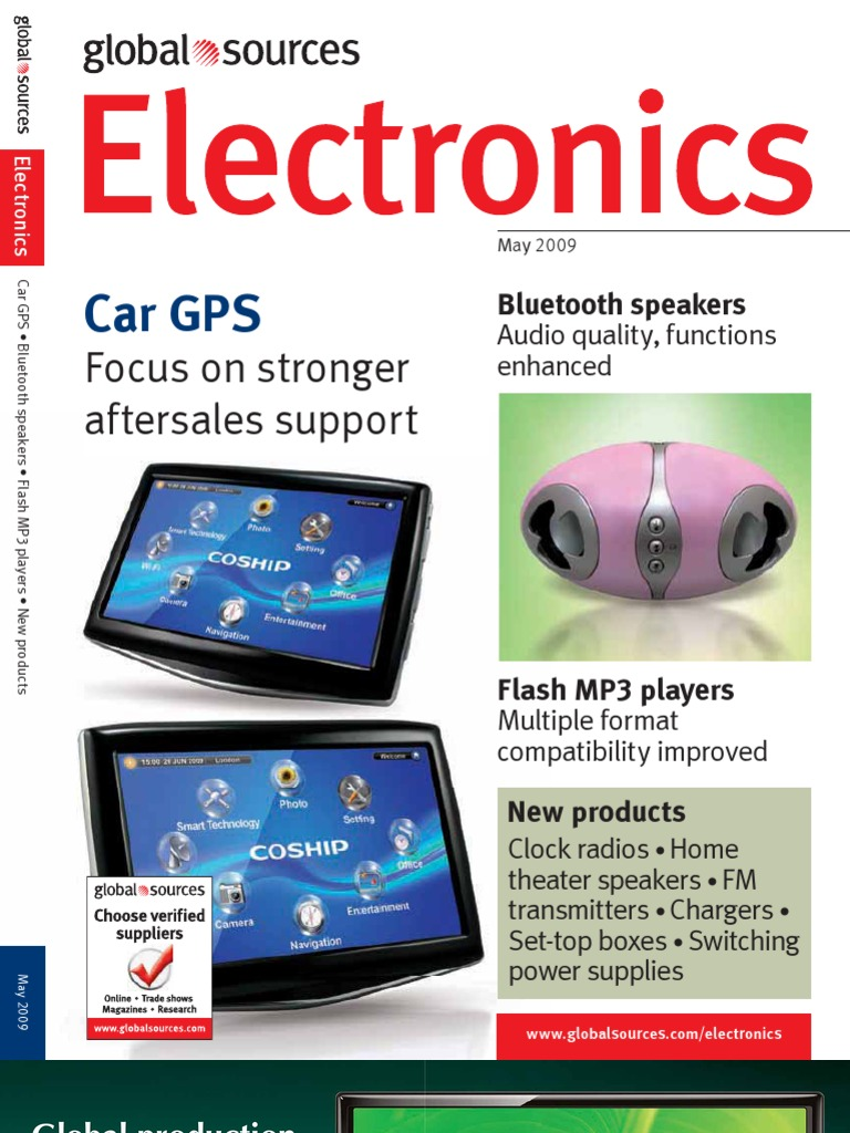electronics magzine computer monitor battery charger