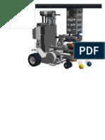 Lego NXT Mindstorms  Bonus Model Color Programmable Car