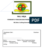 Fail Meja Ppm Asrama