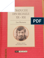 Butnaru Leo Traduceri Din Secolele XX-XXI