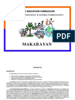 14474671 Basic Education Curriculum Philippine Elementary Learning Competencies MAKABAYAN
