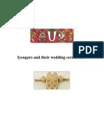 Iyengars and Their Wedding Ceremonies