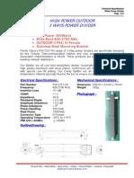 3 Way Splitter 800-2700MHz-HP