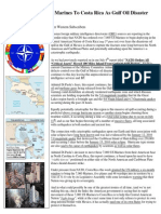Insider News - 1386 - NATO Orders 7,000 US Marines to Costa Rica as Gulf Oil Disaster