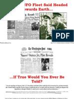 Insider News - 1395 - Massive UFO Fleet Said Headed Toward Earth