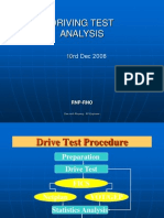 Driving Test & Analysis
