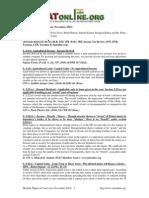 Digest Case Laws November 2010