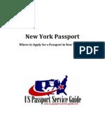 New York Passport - Applying for a U.S. Passport in New York City