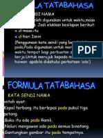 Formula Tata Bahasa