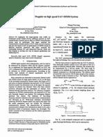 Impact of Doppler on High Speed UAV OFDM System