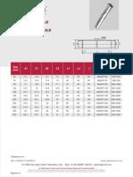 Aluminum Ferrule Pilc to Xlpe Transition Ferrule