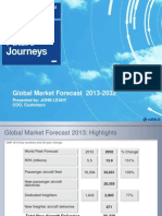 Airbus Global Market Forecast 2013-2032 Slides
