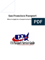 San Francisco Passport - Applying for a Passport in San Francisco California