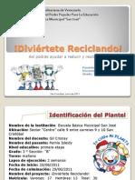 PROYECTO 2-Divierte Reciclando!