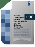 Plan de Contingencia por las Lluvias 2009