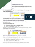 6 Calcolo Matriciale Con Excel