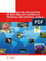 IUCN Guidelines