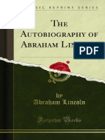 The Autobiography of Abraham Lincoln 1000123920