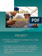 Project mangement overview